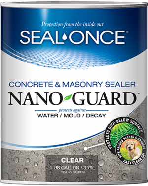 Seal-Once Nano Guard Concrete and Masonry Sealer Product Image