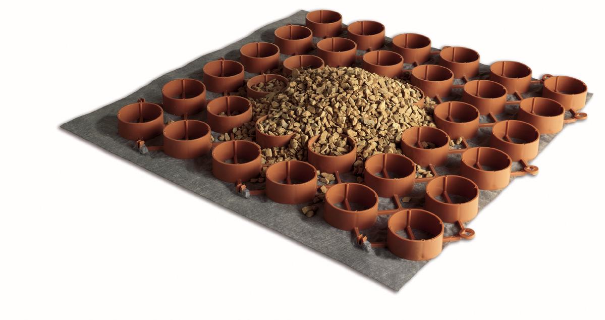Porous Gravel Paver Gravelpave2 Gravel Reinforcement Building