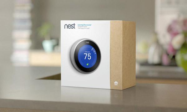 Nest Learning Thermostat, 3rd generation-T3007ES - The Home