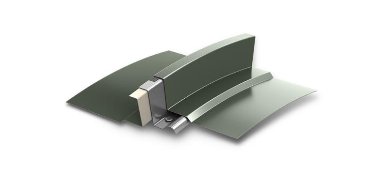 Berridge Manufacturing Company - Zee Lock Panel Curved or Tapered