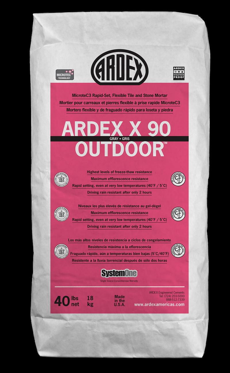 ARDEX Americas   ARDEX X 90 OUTDOOR™