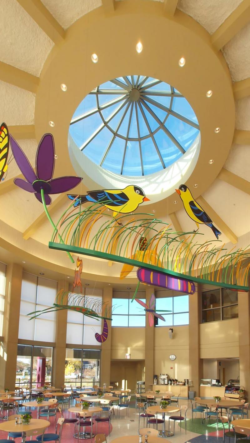 Auburn® glass skylight
