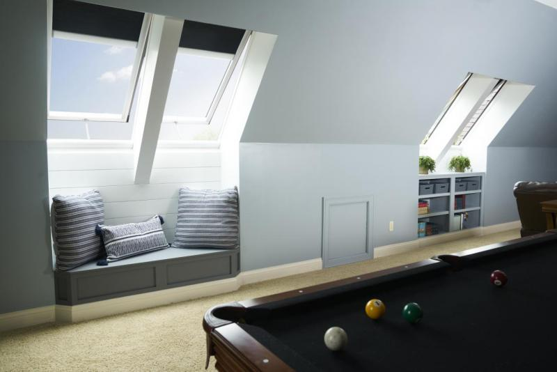 VELUX Skylight Blinds are the perfect way to control light and a natural design element to add to any new or existing VELUX skylight.