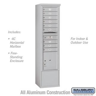 4C Free-Standing Mailboxes