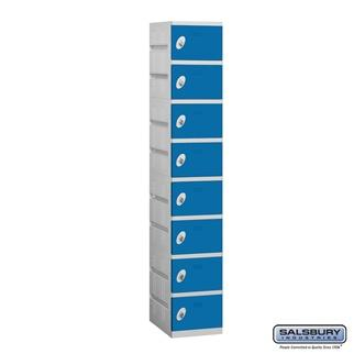 Eight Tier Plastic Locker