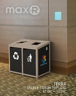 Max-R Indoor Waste & Recycling