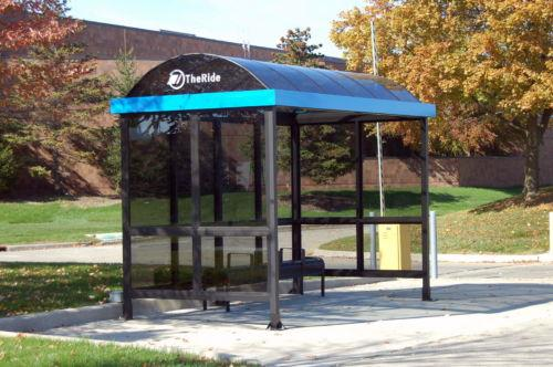 The Barrel Vault Bus & Transit Shelter by Duo-Gard