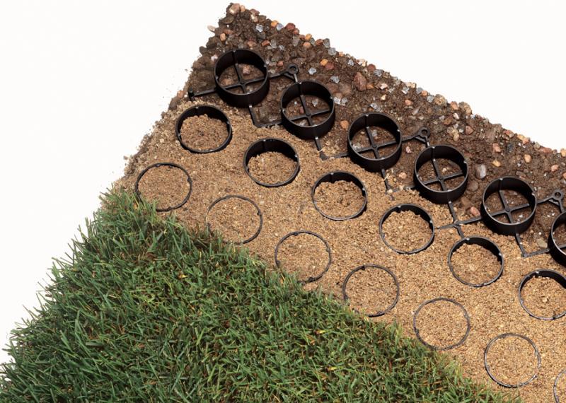 Grasspave2 - Grass Pavers - Porous Pavement - Turf Paver