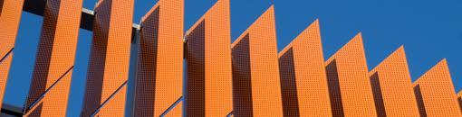 Standard Perforated Metal Sunshades | Accurate Perforating