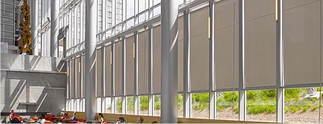 Window Shades and Solar Control Solutions :: Draper, Inc.
