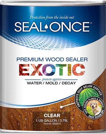 Seal-Once Exotic Nano Guard Premium Wood Sealer
