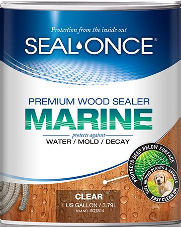 Seal-Once Marine Nano Guard Premium Wood Sealer