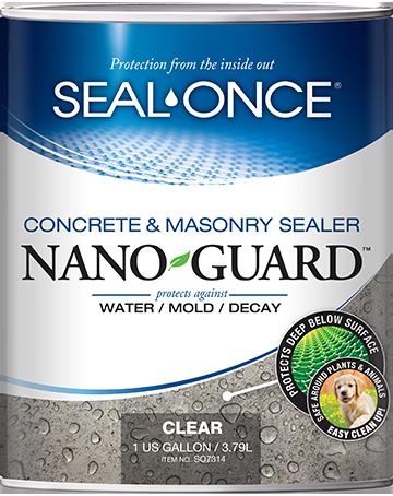 Seal-Once Nano Guard Concrete and Masonry Sealer Product Image