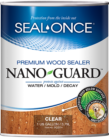 Seal-Once Nano Guard Premium Wood Sealer Product Image