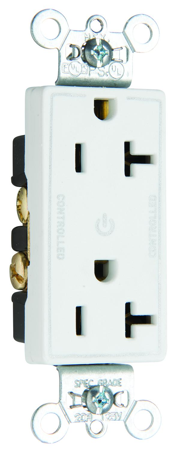 Controlled Receptacle