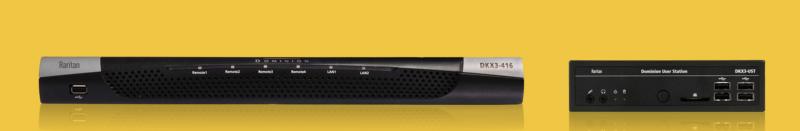 Dominion® KX III, KVM-over-IP Switch