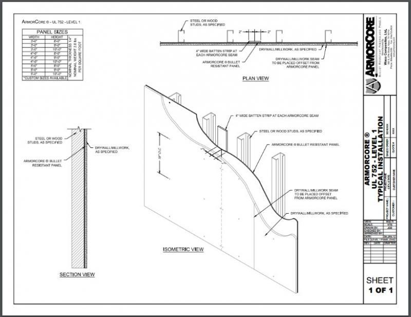 UL 752 Level 1 Fiberglass - Level 1 Bullet Resistant Glass | ArmorCore®