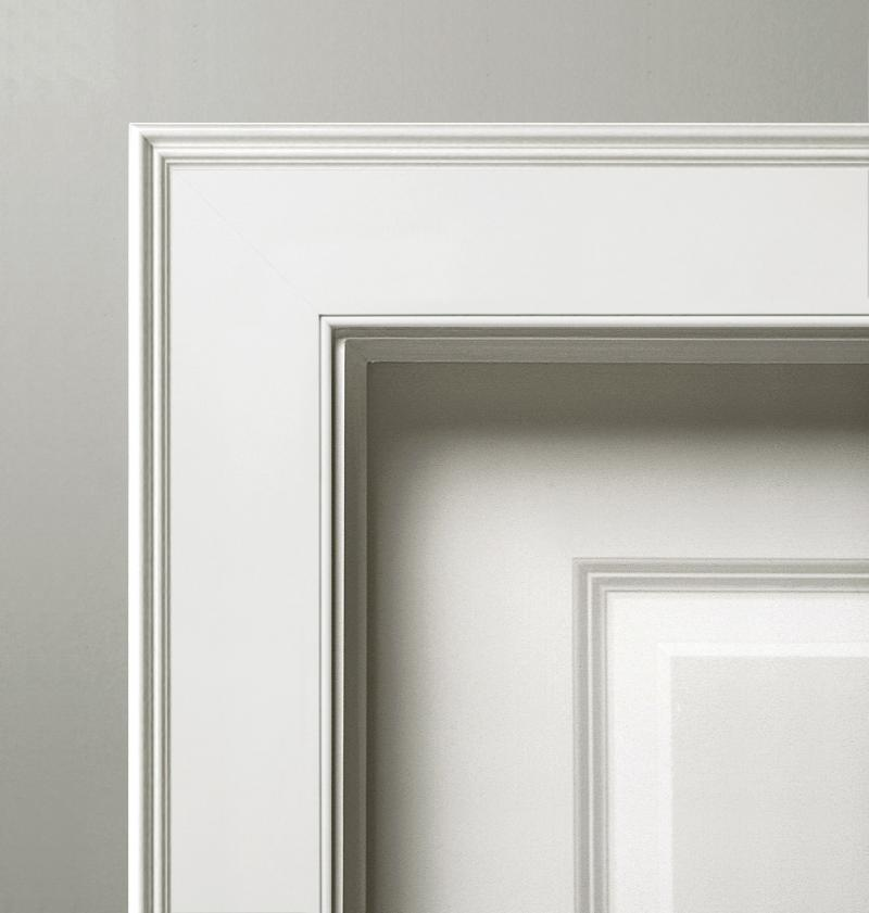 FEDERAL PANEL MOLDING WITH BEADED CASING