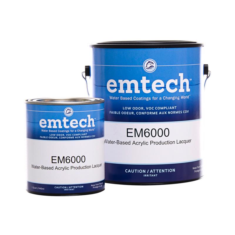 Emtech EM6000 Waterborne Production Lacquer