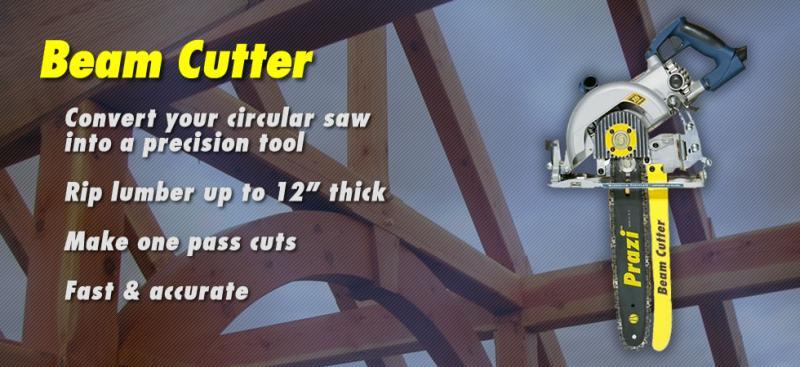 "12"" saw, beam cutter, Prazi , Prazi USA"