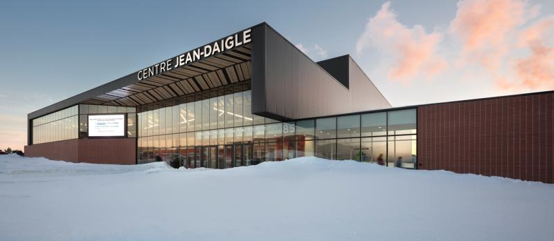 Lainco: Pre-Engineered Building - Ice Arena