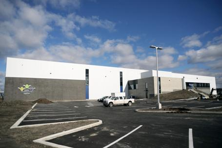 Lainco: Pre-Engineered Building - Soccerplex