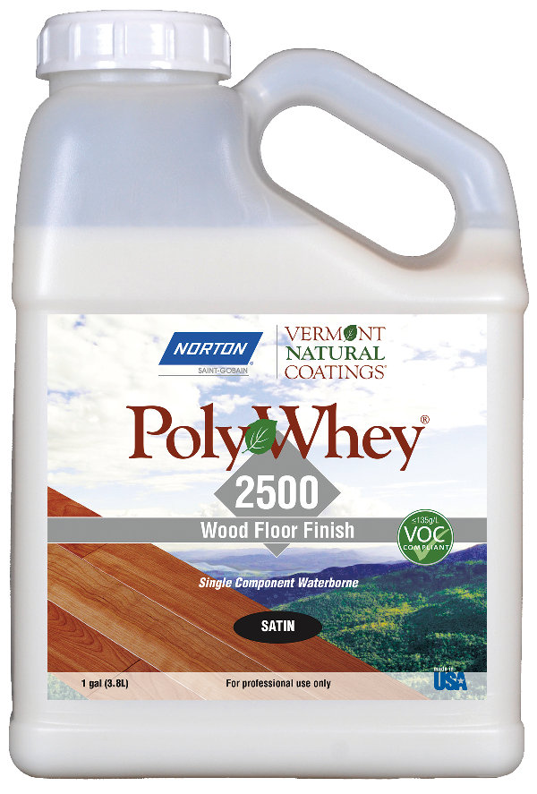 Vermont Natural Coatings PolyWhey 2500 Professional Floor Finish