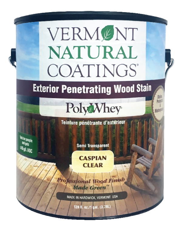 Vermont Natural Coatings PolyWhey Exterior Penetrating Wood Stian