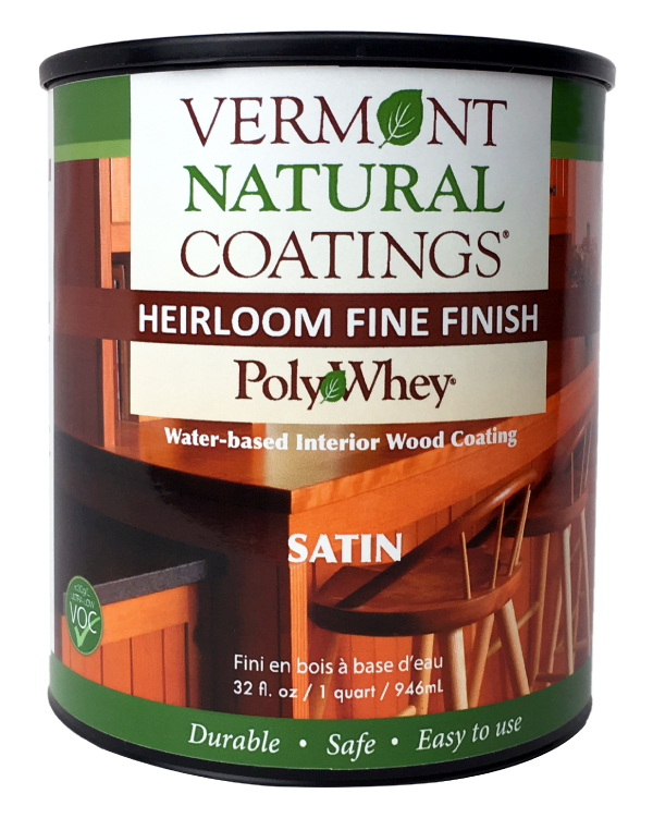Vermont Natural Coatings PolyWhey Heirloom Fine Finish