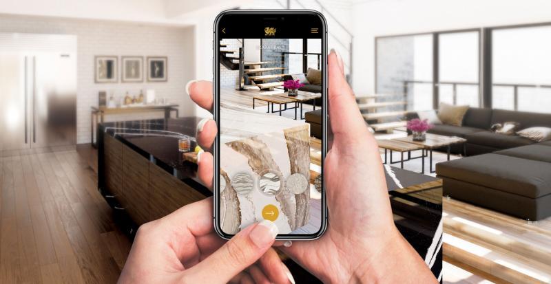 Cambria AR - Cambria designs virtually in your home