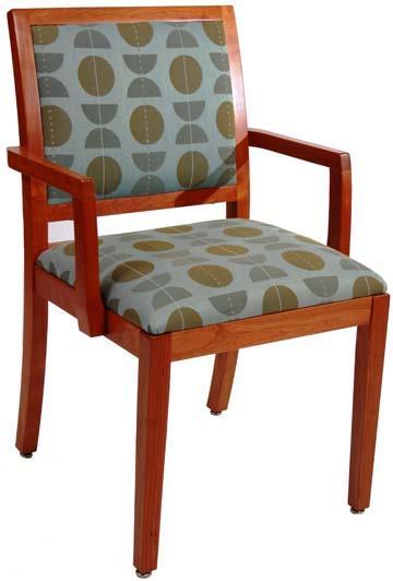 Chair: Jenkins Arm; Contemporary Hardwood - Eustis Chair