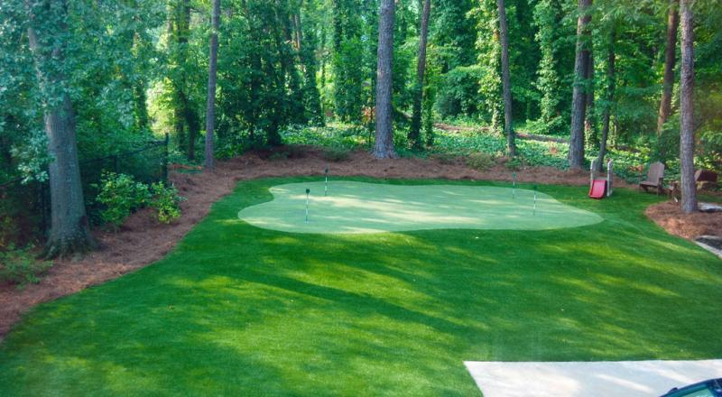 Backyard Putting Greens - IntelliTurf | Synthetic Grass, Artificial Turf Install Boston, New England