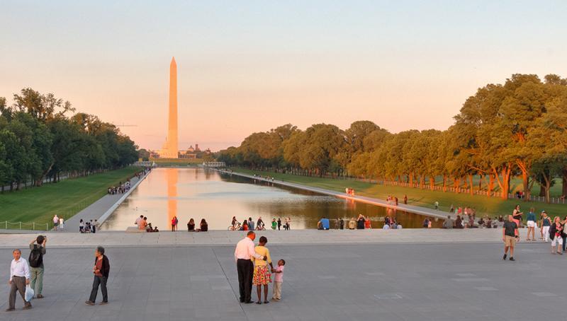 Lincoln Memorial Landscape and Reflecting Pool – Sasaki