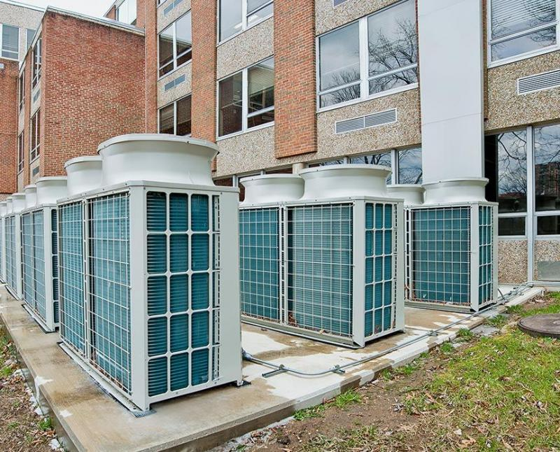 Air-Source Heat Recovery VRF | Mitsubishi Electric Cooling & Heating