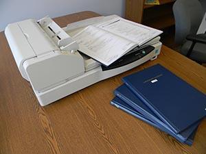 Lab Notebook Scanning