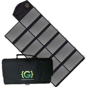 Grengine™ 80W Folding Solar Panel – Grengine - Growing Greener Innovations