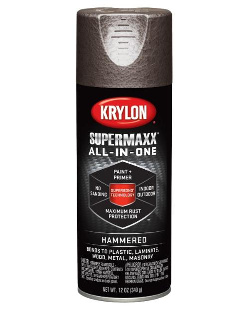 Krylon SUPERMAXX All-In-One Hammered Finish Paint