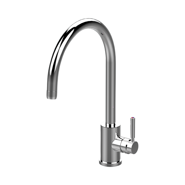 Juliet Sink Mixer with 'C' Spout - Perrin and Rowe