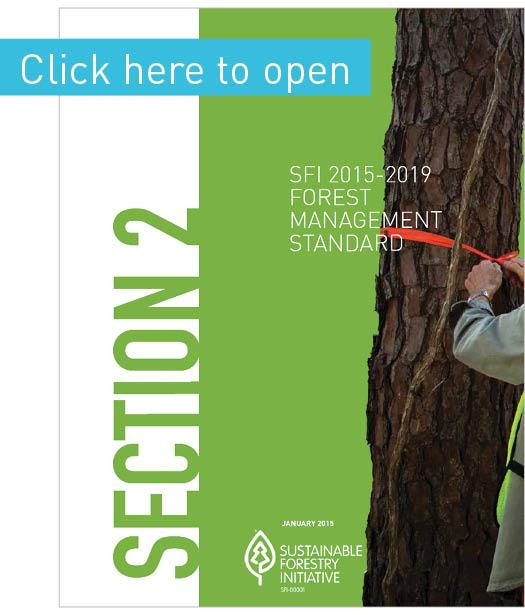 Forest Management Standard - SFI