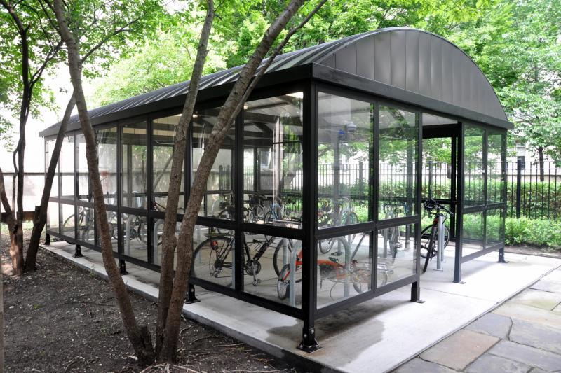 Custom Bike Shelters