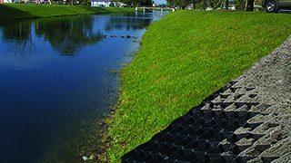 GEOWEB® – 3D Geocell Shoreline Protection