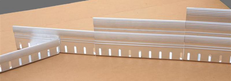 RoofEdge Aluminum Edge Restraint