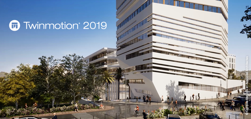 Twinmotion 2019 - 3D Immersive visualization solution for architects