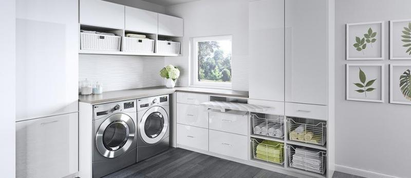 Laundry Room Cabinets & Storage