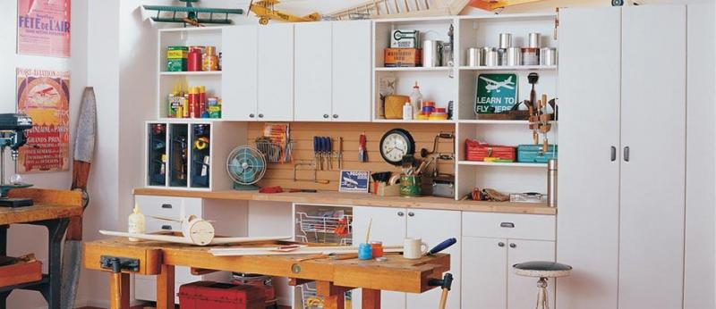 Workbench Storage Organization & Design Solutions for Your Garage
