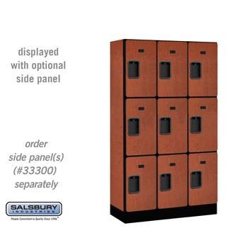 """Designer Lockers - 12"""" W - Triple Tier"""