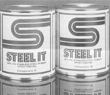Stainless Steel Epoxy for Metal: Best Metal Epoxy Paint System: Strongest, High Temp & Heat Resistant | STEEL-IT®