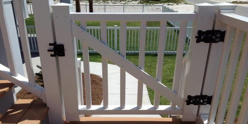 Gates - Color Guard Railing