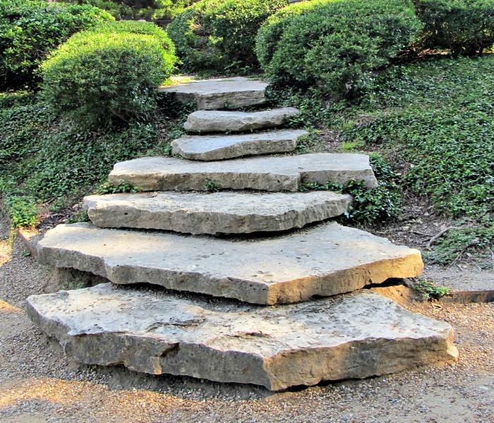 Natural Stone Steps - Stone Slabs
