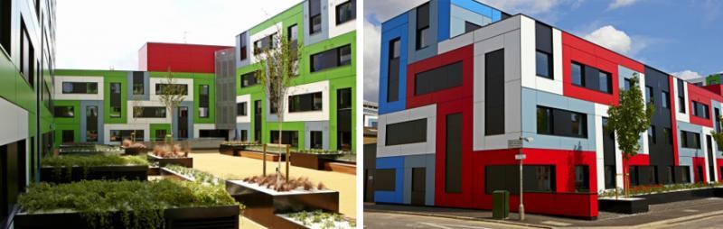 Cladding panels for exterior cladding | Trespa Meteon